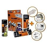 Promo Foliatec Spray Film Set - black + Sealer Glossy 3x400ml