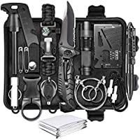 LC-dolida 17 in 1 Gear and Equipment Emergency Survival Tools