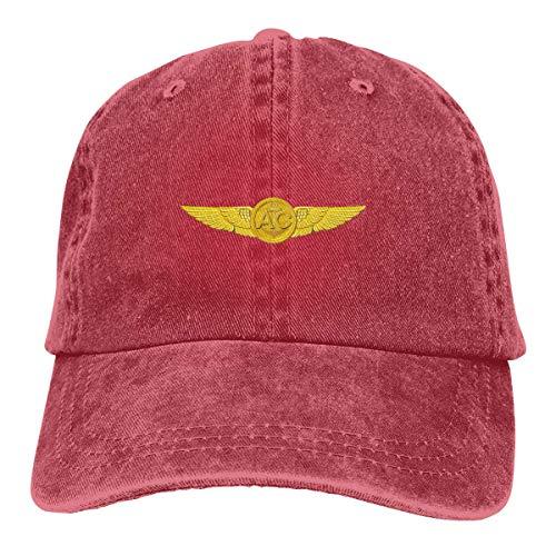 Preisvergleich Produktbild Voxpkrs Trucker Cap US Navy Aircrew Wings Durable Baseball Cap Hats Adjustable Dad Hat Black asdfghjklzxc25016