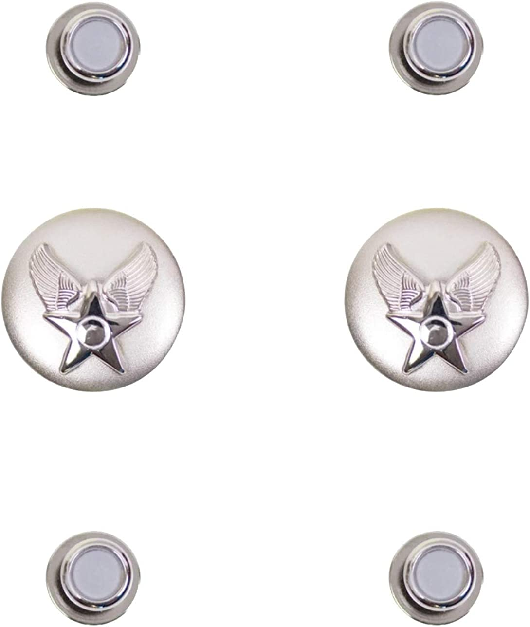 Uniform Accessories Unlimited Inc Air Force Hap Arnold Cuff Links and Shirt Studs