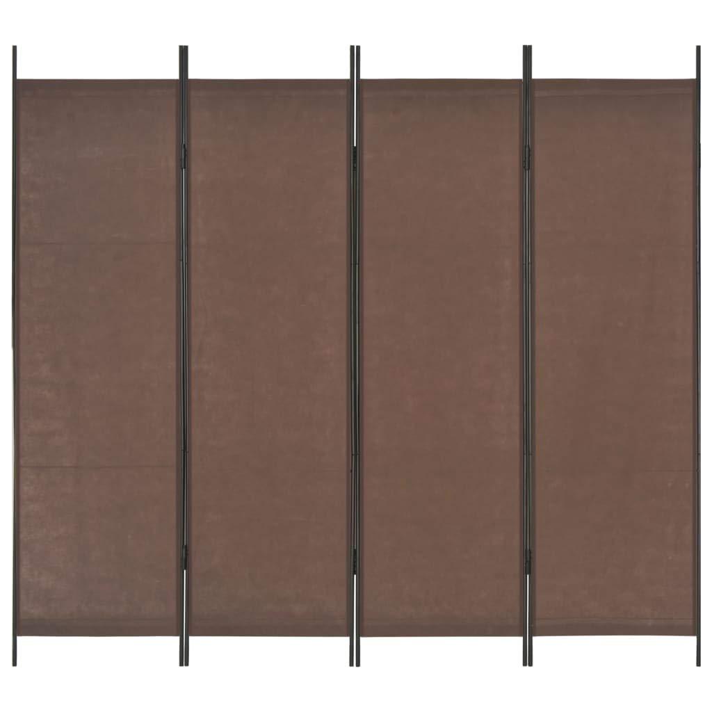 Festnight - Panel Separador de Escritorio (200 x 180 cm), Color marrón: Amazon.es: Hogar
