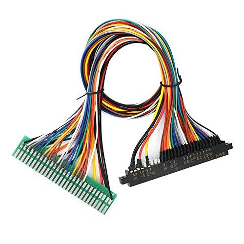Monland Arcade Maschinen Gewidmet Verl?ngerungs Kabel für 28 P Jamma Linie Gold Finger Row Plug-In Spiel Automat Zubeh?r Langer Kabel Baum