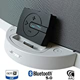 CoolStream Boom Bluetooth Adapter for Bose SoundDock with 30 Pin Connector and Wired