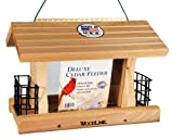 Woodlink Deluxe Cedar Bird Feeder