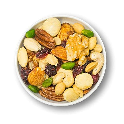 1001 Frucht Edle Nussmischung 1000 g naturbelassene Nüsse veredelt mit Cranberrys ohne Zucker und...