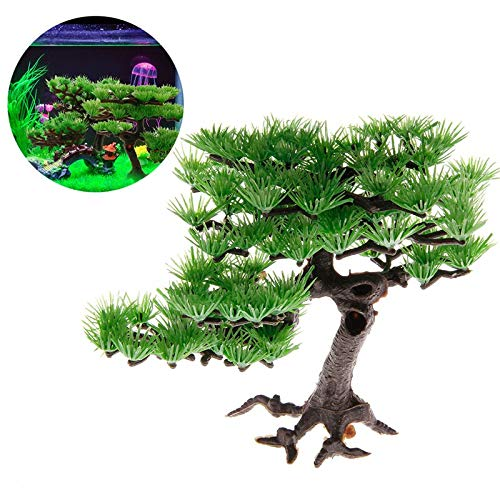 SANHOC Plantas artificiales de plástico pino