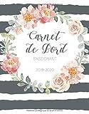 Carnet de Bord Enseignant 2019-2020: Agenda Scolaire Août 2019 - Juillet 2020 | Calendrier, Journal...