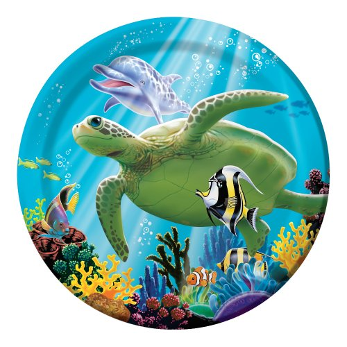 Creative Converting Ocean Party 8 Count Paper Lunch Plates