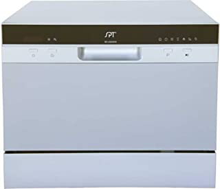 SPT SD-2224DS Compact Countertop Dishwasher with Delay Start – Energy Star Portable..