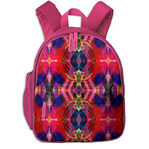 Mochila Infantil niña,The Phoenix Wavelength_5484 - loriwierdesigns, para Las escuelas Infantiles Oxford Cloth (Rosa)