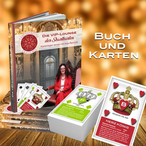 Buch und Kartenset zum Kartenlegen mit den Orakel Skatkarten - Anja Reimuth