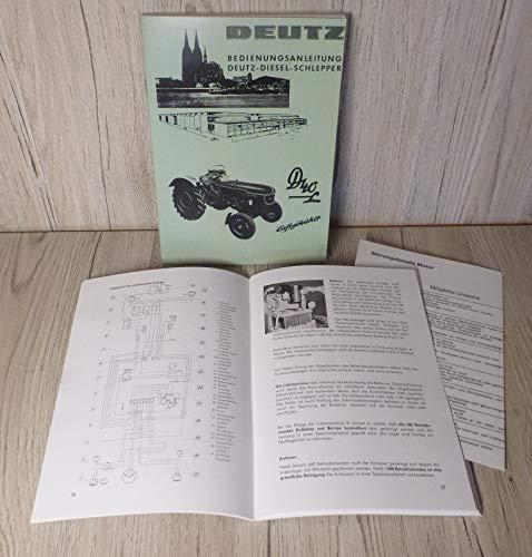 DEUTZ Betriebsanleitung Bedienungsanleitung Traktor D40L D40.2 H-1136-1