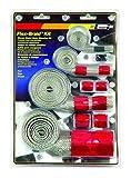 Mr. Gasket 8090 Red Flex-Braided Hose Sleeve Kit...