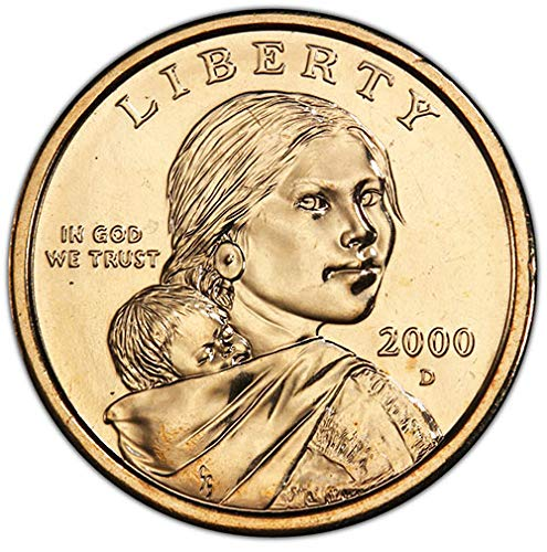 2000 D BU Sacagawea Dollar Choice Uncirculated US Mint