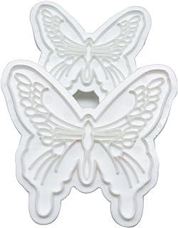 joyliveCY 2pcs mariposa cortador molde Sugarcraft Fondant pastel decoración DIY herramienta