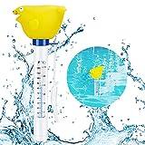 Familybox Schwimmende Pool Thermometer, Poolthermometer Wassertemperatur Mit String & Bruchfest schwimmbadthermometer für Swimmingpool, Spas, Hot Tubs, Aquarien, Fischteiche & Baby-Pool