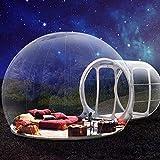 XIN 3M acampa al Aire Libre Inflable Burbuja Carpa Gran casa Familiar Patio Trasero de Bricolaje Burbuja Transparente Tienda de campaña Lodge Hotel (Color : 4m)
