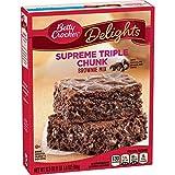 Brownie con gocce di cioccolato e gocce di cioccolato Ultra-gourmand, facile e veloce Basta aggiungere acqua, olio e 2 uova