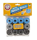 Arm & Hammer Easy-Tear Disposable Waste Bag Refills Assorted Colors Various Multi-packs Av...