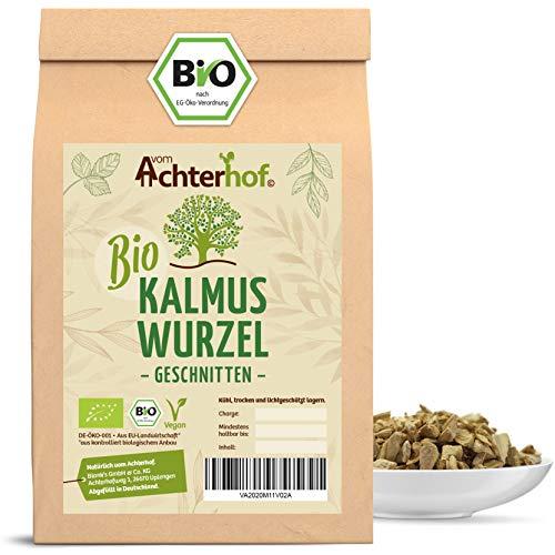 Bio-Kalmuswurzel natur (500g) getrocknet geschnitten (Kalmuswurzeltee) kbA Kalmus - Natural Acorus Calamus Root Organic