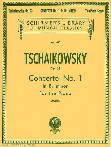 TCHAIKOVSKY - Concierto nº 1 en Sib menor Op.23 para 2 Pianos a 4 manos (Joseffy)