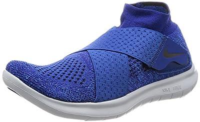 Nike Women's Free Rn Motion FK 2017 Running Shoe (9 M US, Wolf/Grey/Black/Cool/Grey/Volt)