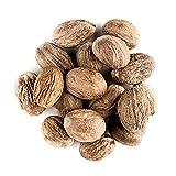 Moscada Nuez Fragante Orgánica Entera - True Myristica Fragrans Nutmeg 100g