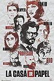 Poster La Casa De Papel Personajes