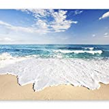 artgeist Wall Mural Sea Beach 135'x101' XXL Peel and Stick Self-Adhesive Wallpaper Removable Large Sticker Foil Wall Decor Print Picture Image Design c-B-0035-a-a