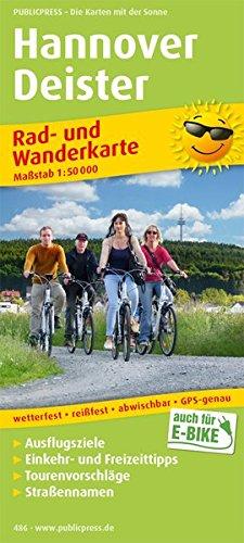 Hannover - Deister: Rad- und Wanderkarte mit Ausflugszielen, Einkehr- & Freizeittipps, wetterfest, reißfest, abwischbar, GPS-genau. 1:50000 (Rad- und Wanderkarte / RuWK)