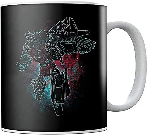 Transformers Starscream - Taza de té de cerámica para regalo de cumpleaños