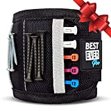 BEST EVER PRO-MADE X1 Magnetic Wristband with Strong Magnets & Pockets to Hold Screws, Nails, and Plastic Tools. Amazing Helping Hand for Your DIY Projects. Best Gifts for Men, Birthday, Father, Dad