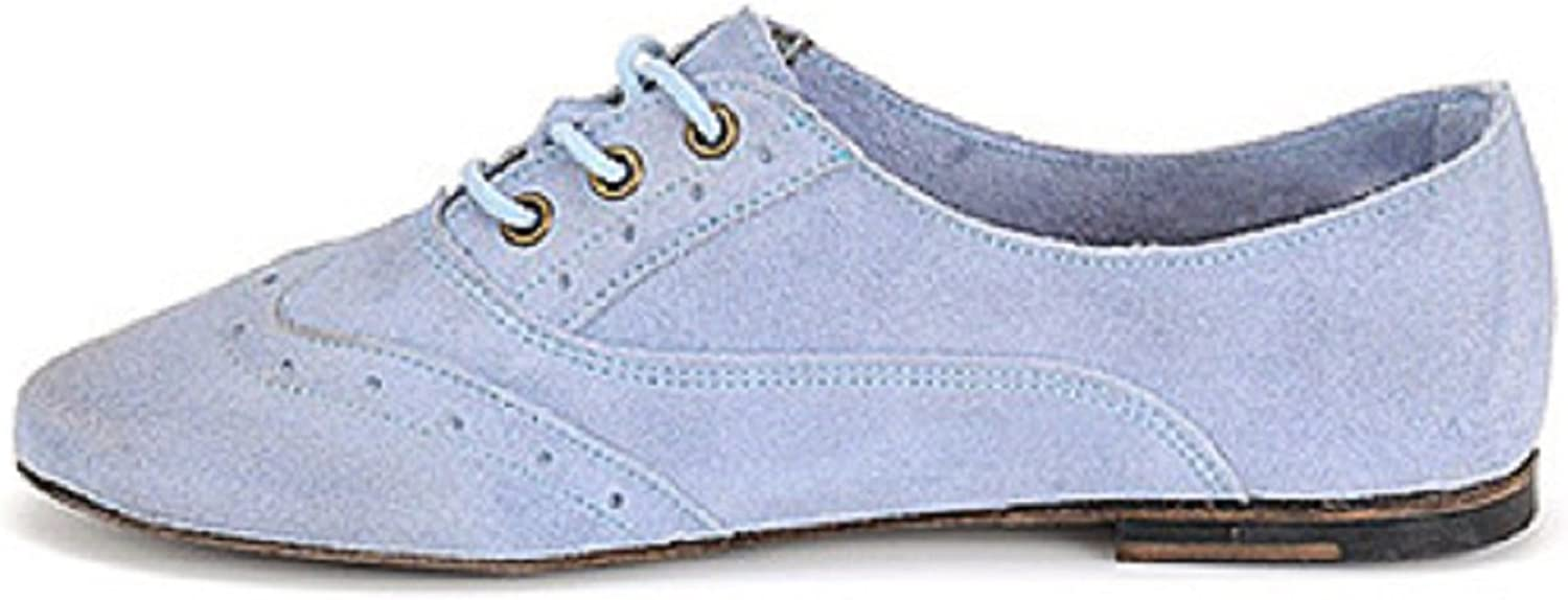 Vintage shoes Company Made in The U.S.A. Aubrey Flat Oxford Lt bluee (Light bluee)
