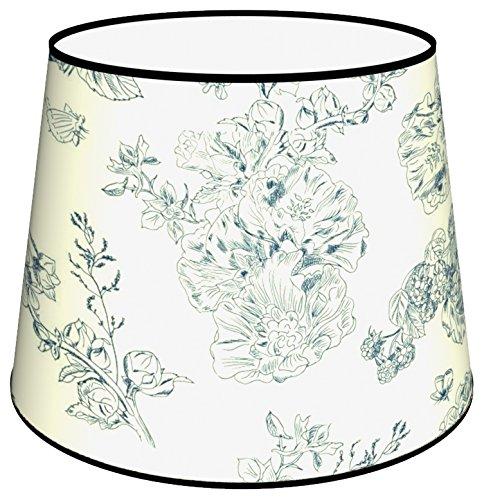 Abat-jours 7111302747319 Conique Imprimé Edgar Lampadaire, Tissus/PVC, Multicolore