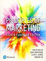 Principles of Marketing, 8th European Edition Front Cover
