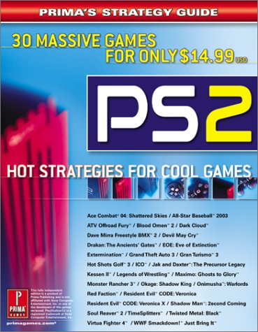 Playstation2: Hot Strategies for Cool Games