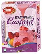 custard powder strawberry flavour