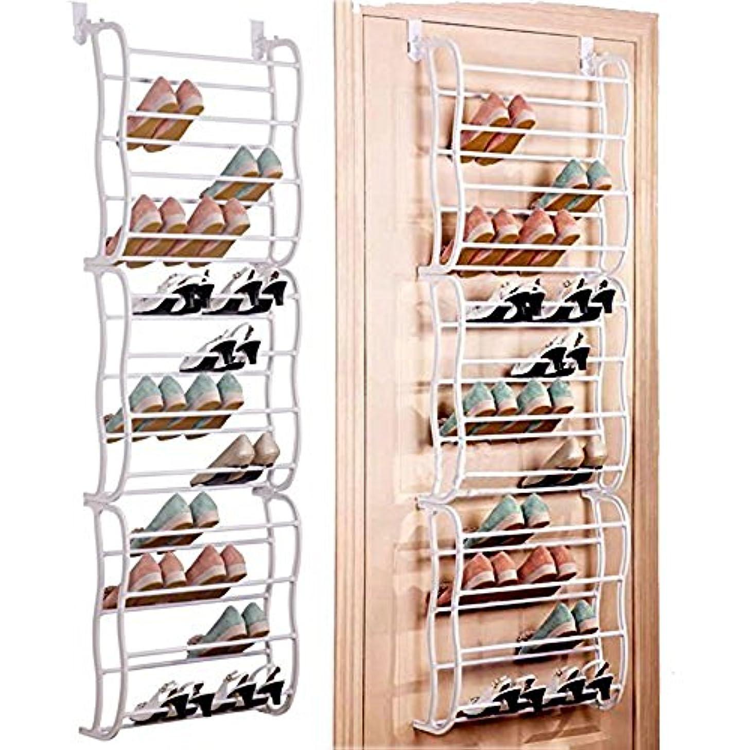 Multifunctional 12 Layers Shoe Rack Hanging Over the Door Home DIY Shoe Organizer Fit 36 Pairs