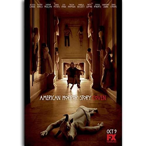 American Horror Story Tv Filmplakat Leinwand Malerei Wandkunst Bild Poster Und Drucke Für Wohnzimmer Dekoration 40X60 cm Ohne Rahmen
