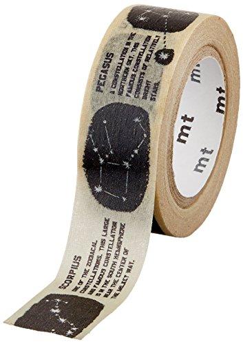 MT 和紙マスキングテープ 子供用 星座 15mm x 7m (MT01KID023)