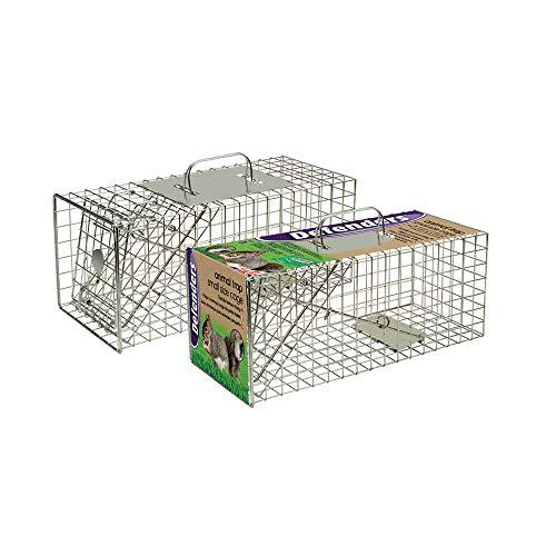 Defenders Tierfalle (Kleinem Käfig, Menschliche Falle, Für Eichhörnchen, 44 x 19 x 19 cm)