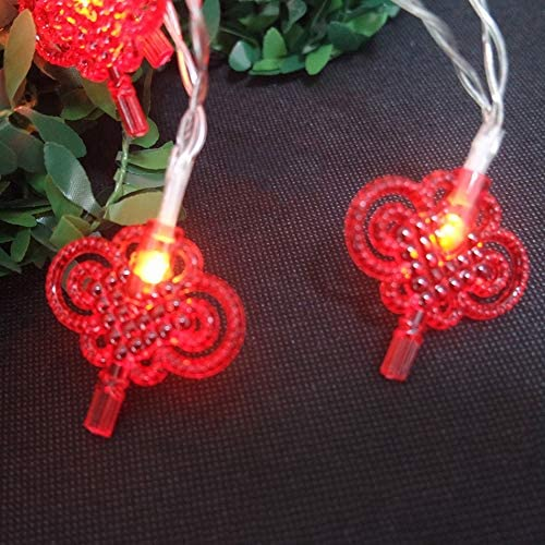 Practically Battery Ranking TOP4 Powered Max 49% OFF China Knot Lights led Lovely String