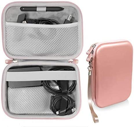 new arrival Microsoft Surface Accessories organizing case, by getgear, for Surface Dock, Surface Charger Adapter, Surface Arc Mouse, Surface Pen, Surface USB outlet sale outlet sale 3.0 Hub Docking Station and Others (Rose Gold) online sale