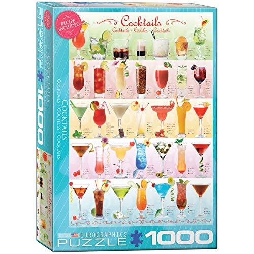 EuroGraphics Cocktails Puzzle (1000-Piece) (6000-0588)
