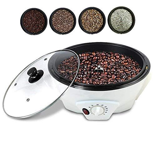 Máquina de café Mini calentador de café con Agitador, Tostador de cafe para los granos de café, tostador de café Tostadora de la casa. -Acero - 220V / 1200W