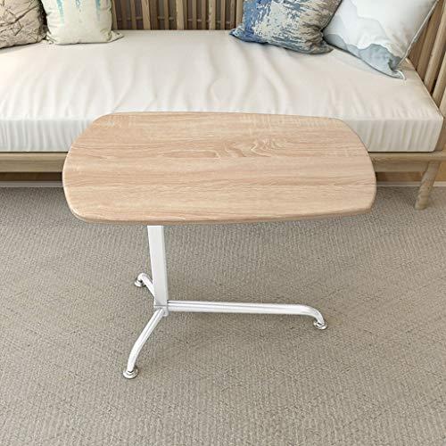 ZXL Kleine opklapbare tafel Luie Tabel Laptop Tafel Gebruikt voor Indoor Meubelen Pagina Sofa Bed Zijde (Kleur: A)