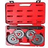 TRIL GEAR 5PCS Telescopic Coil Spring Strut Compressor Tool Kit Compatible with W124 W126 W116 W123 W202 W220