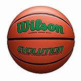Wilson Evolution Game Basketball, Green, Official Size - 29.5'