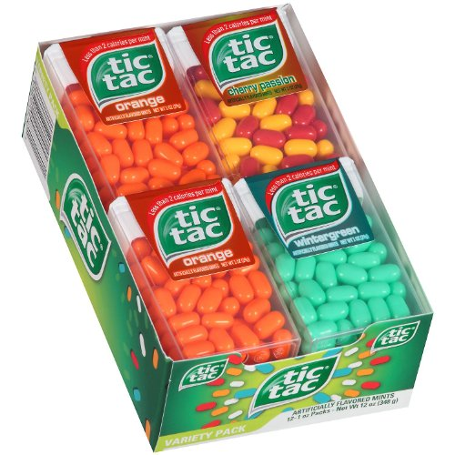 Tic Tac Variety Big Pack - 12 ct.