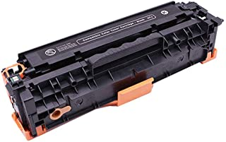Original Code Ce320a Toner Cartridge Compatible with Hp, Suitable for Hp Laserjet Pro Cm1415fn Cp1525nw Cp1521 Printer Genuine Supplies 4 Colors-Black